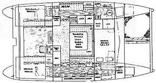 Catamaran Floor Plans Ed Horstman Designs