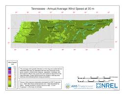 Tennessee vegetaion images Windexchange tennessee 30 meter residential scale wind resource map jpg