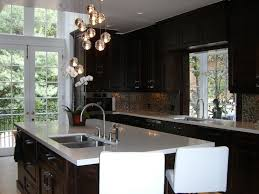 Glossy Kitchen Cabinets Glossy Brown Kitchen Cabinets Design Ideas