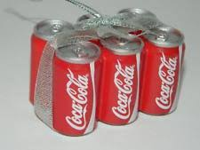 coca cola ornaments ebay