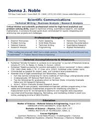 science resume exles exles of resume headlines exles of resumes