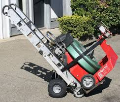 stair climber hand truck for sewer rodding equipment hand trucks