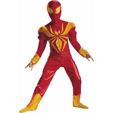 iron spider man muscle child halloween costume walmart com