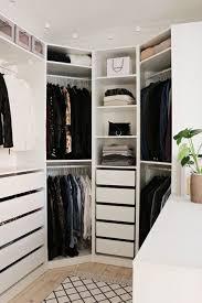 Ikea Fitted Wardrobe Interiors Best 25 Corner Wardrobe Ideas On Pinterest Corner Closet