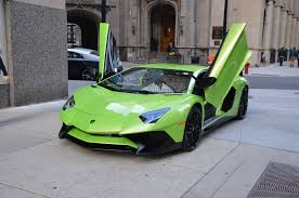 lime green bentley 2016 lamborghini aventador lp 750 4 sv stock gc mir120 for sale
