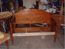 Bench Made From Bed Headboard 140 Best Bancos Reciclados Images On Pinterest Bed Frame Bench