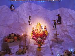 Home Ganpati Decoration My World Ganapati Idols From Across Mumbai