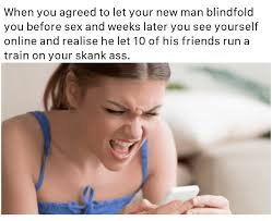 Skank Meme - surprised thot meme explicitmemes