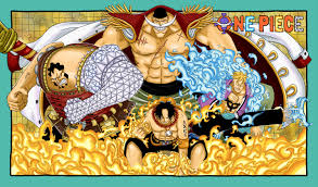 one piece whitebeard pirates one piece gold page 5