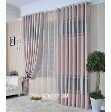 pink and silver embossed luxury beautiful quality curtains