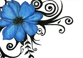 blue roses tattoo tattoo collections