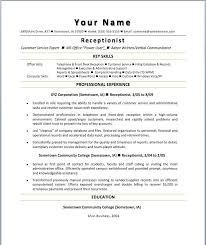 teacher resume professional skills receptionist skills qualifications resume exles
