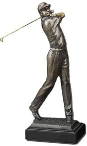golf statues home decorating golf statues home decorating male golfer cast bronze sculpture free