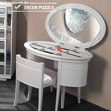 Modern Vanity Table Luxury Modern White Dressing Table Designs With Mirror And