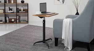 Oak Laptop Desk Orson Adjustable Laptop Table Ladder