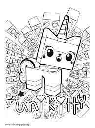 The Lego Movie Unikitty A Unicorn Kitten Coloring Page Coloring Pages Lego