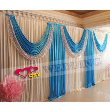 Pink And Teal Curtains Decorating 2017 Wedding Backdrops For Wedding Decoration Hotel Bar Curtain