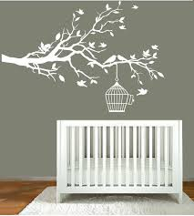 White Tree Wall Decal Nursery Wall Decal Stunning White Tree Wall Decal For Nursery White Tree