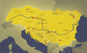 Europe Mountains Map by Danube Between Mountains And Sea Your Trip Ideas