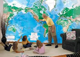 wall maps world mural wall map wallpaper physical dma edition swiftmaps