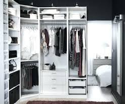 Diy Fitted Bedroom Furniture Pax Open Wardrobe U2013 Senalka Com