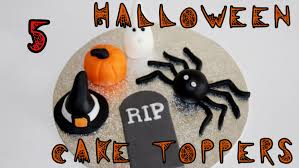 halloween spider web cupcake toppers video tutorial