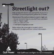 who to call when street lights are out okaloosa island leaseholders association oila street light msbu