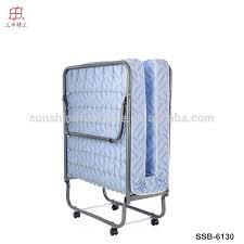 Tempat Tidur Besi Lipat kualitas tinggi cina pabrik baja tunggal tidur lipat buy product
