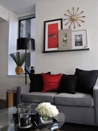 red room living room ways to decorate grey living rooms beige and red