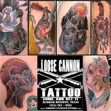 loose cannon tattoo tattoo u0026 piercing shop harker heights