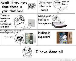Childhood Meme - childhood moments