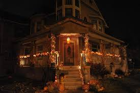 creative halloween decorations lights for night