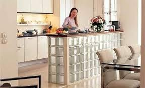 brique de verre cuisine bricolage bar en briques de verre cuisine