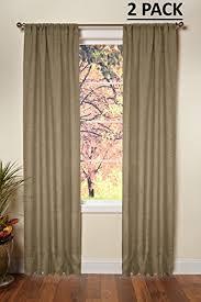 Burlap Looking Curtains Burlap Curtains Amazon Com