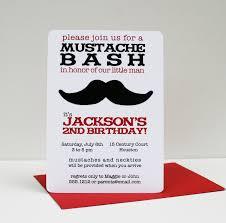 photo mustache baby shower invitations image