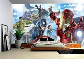 graffiti boys bedroom avengers room wallpaper avengers photo wallpaper custom hulk