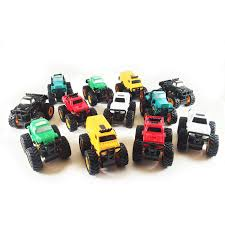 monster jam truck amazon com boley monster pullback trucks mini 12 pack friction