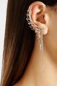 one ear earring 503 best piercing images on ears piercing piercing