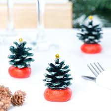 Small Christmas Tree Table Decorations by Mini Christmas Tree Table Decorations Free Craft Ideas Baker Ross