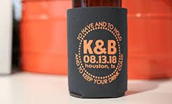 koozies for wedding design your own koozies can coolers totallykoozies