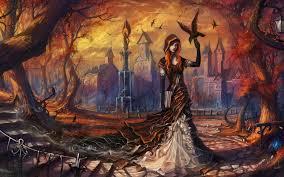 halloween desktop background themes free eerie autumn halloween wallpapers