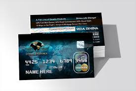Business Card Credit Vida Credit Card Style U2013 My Shop Vida Divina