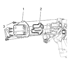 repair instructions off vehicle engine oil cooler installation