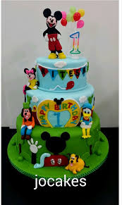 1st birthday mickey cakes decorating of party