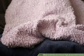 How To Wash Colored Towels - how to identify and choose high quality bath towels 4 steps