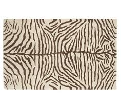Outdoor Zebra Rug Get The Look Zebra Print Rug Apartment Therapy
