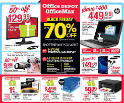 home depot black friday af office depot and officemax black friday 2017 ads deals and sales