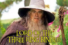 Binder Meme - lord of the three ring binder binders full of women know your meme