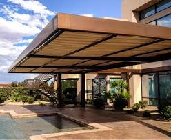Outdoor Shades For Patio by Retractable Awnings Screens Patio Awning Sunesta