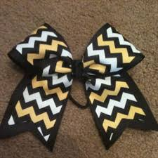 african american cheer hair bows shop gold cheer bow on wanelo